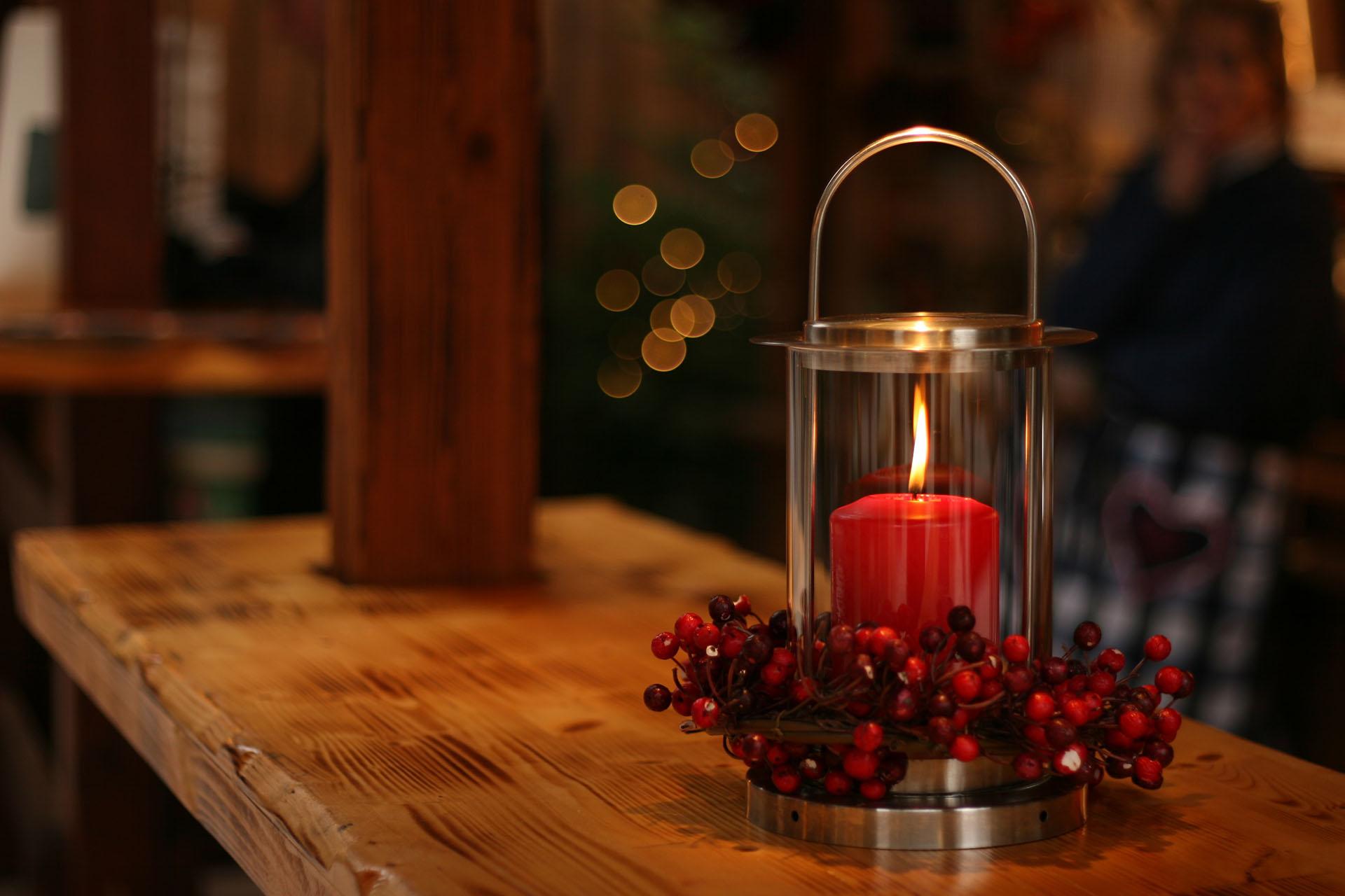 Christmas Candle Prairie